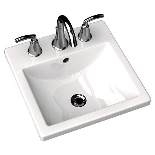 American Standard Studio Carre Self Rimming Bathroom Sink 8''