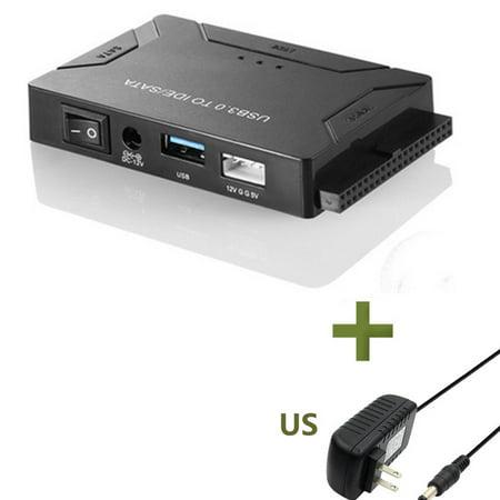 SATA Combo USB IDE SATA Adapter Hard Disk SATA To USB3.0 Data Transfer Converter For 2.5/3.5/5.25 Optical Drive HDD