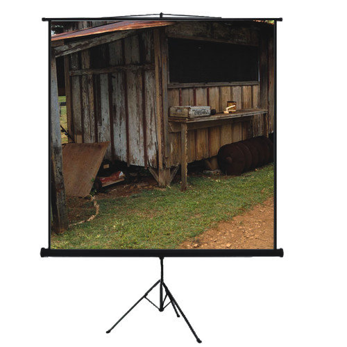 Mustang Matte White Portable Projection Screen