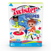 Hasbro Ready Set Discover Twister Shapes Game, Game for Kids Ages 4 and Up