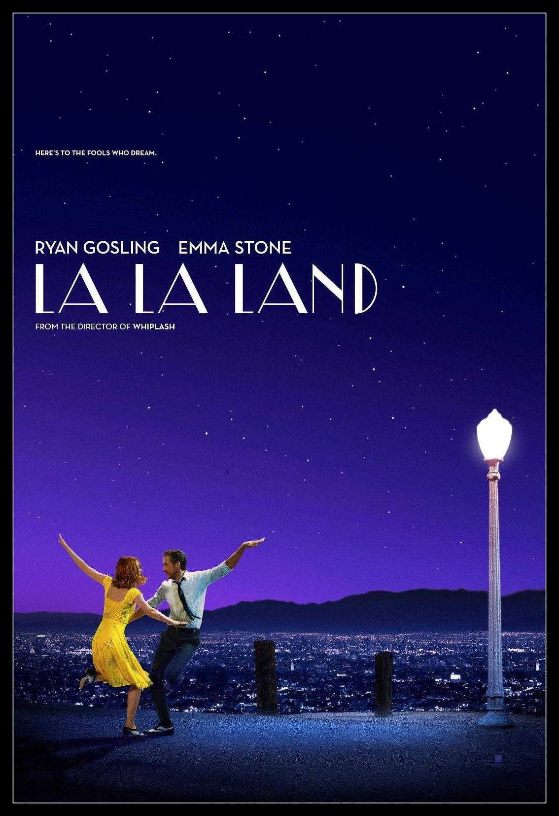 La La Land Movie Poster Poster Print by Rolled Poster