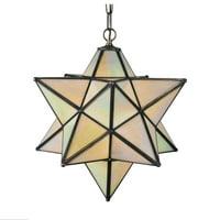 Meyda Tiffany 12114 Pendant - Moravian Star, Mahogany Bronze