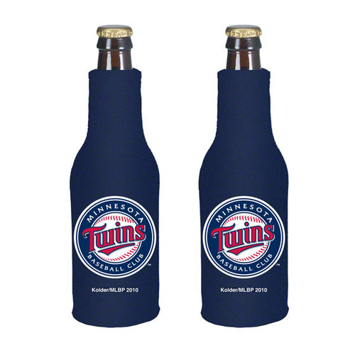 Minnesota Twins Official MLB  Insulated Coozie Bottle Cooler by Kolder