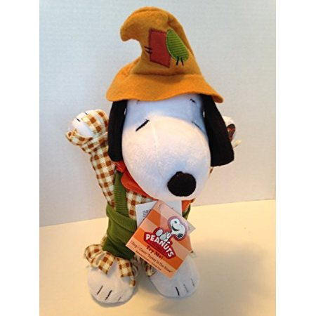 snoopy thanksgiving plush singing dancing peanuts charlie brown - 12 inch (Peanuts Thanksgiving Special)