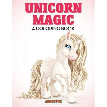 Unicorn Magic : A Coloring Book