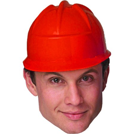 Red Construction Crew Costume Hard Hat Toy