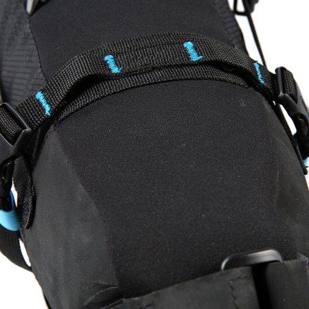 ROSWHEEL Waterproof Bike Bag Bicycle Saddle Bag Pannier Cycling MTB Mountain Road Bike Tail Seat Bag Adjustable 3L-10L - image 4 of 7