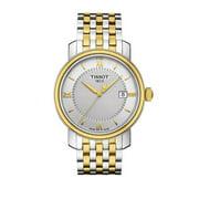 Tissot Mens Bridgeport Two-Tone Stainless Steel Bracelet Watch