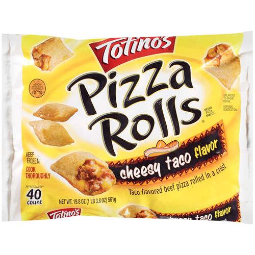 Totino's: Cheesy Taco Flavor Pizza Rolls, 19.8 Oz