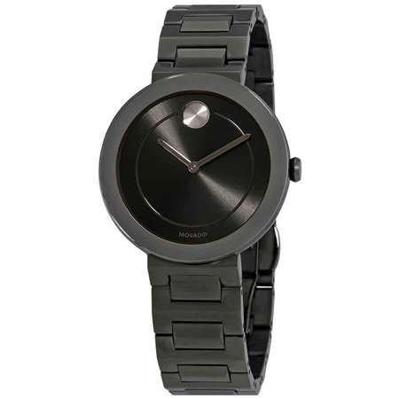- Bold Grey Dial Gunmetal Ion-plated Ladies Watch 3600500