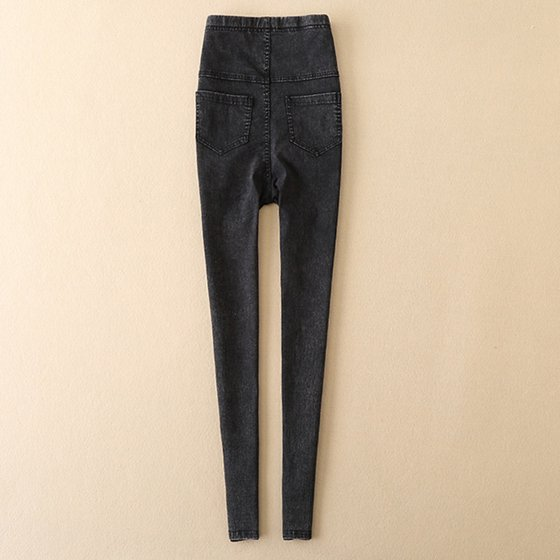8a8806a5eb5fa Tuscom - Tuscom Maternity Pregnancy Skinny Trousers Jeans Over The Pants  Elastic - Walmart.com