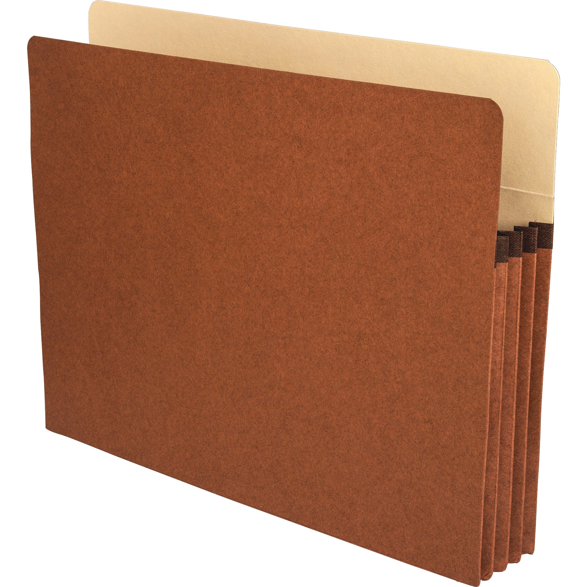 Business Source, BSN65791, Redrope Letter Expanding File Pockets, 25 / Box, Redrope