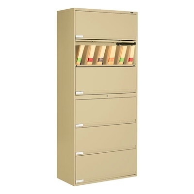 FILE CABINET-END TAB 6HIGH 36IN.W.NEVADA - image 1 de 1