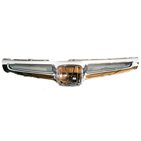 Chrome Grill Assembly for 2003-2005 Honda Accord Grille
