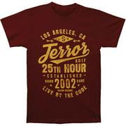 Terror Men's  KOTF T-shirt Maroon