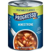 (8 pack) Progresso Vegetable Classics Minestrone Soup, 19 oz