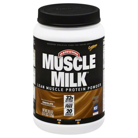 Cytosport: Muscle Milk Chocolate Protein Supplement, 2.47 lb
