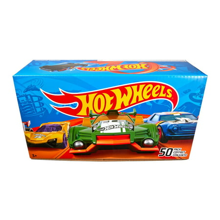 Hot Wheels Race Car (Hot Wheels 50-Car Gift Pack, 1:64 Scale (Styles May Vary) )