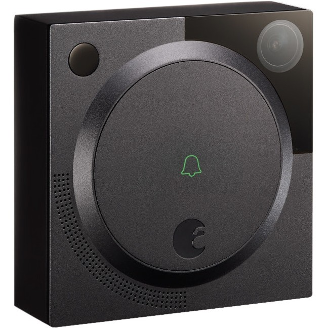 August Home Doorbell Camera, Dark Gray by August Home