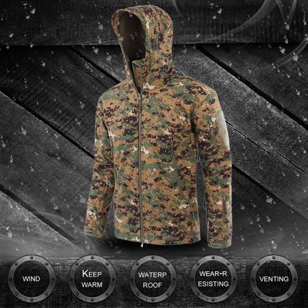 Military Tactical Men Jacket Shark Skin Soft Shell