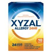 Xyzal 24hr Allergy Relief Antihistamine Tablets, 10ct