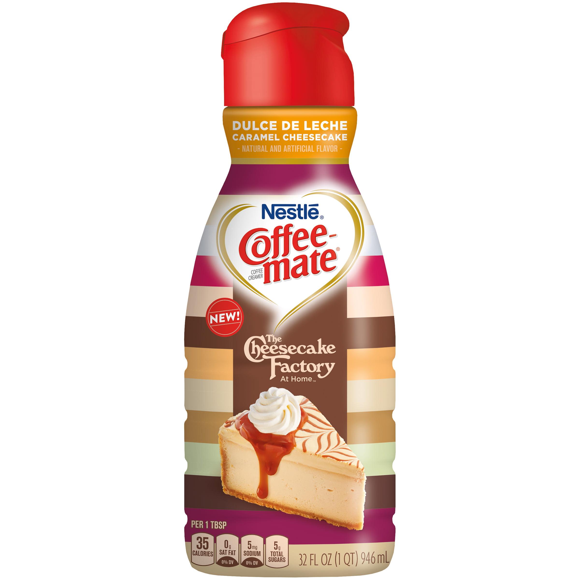 Coffee Mate The Cheesecake Factory At Home Dulce De Leche Cheesecake Liquid  Coffee Creamer 16 Fl. Oz.   Walmart.com