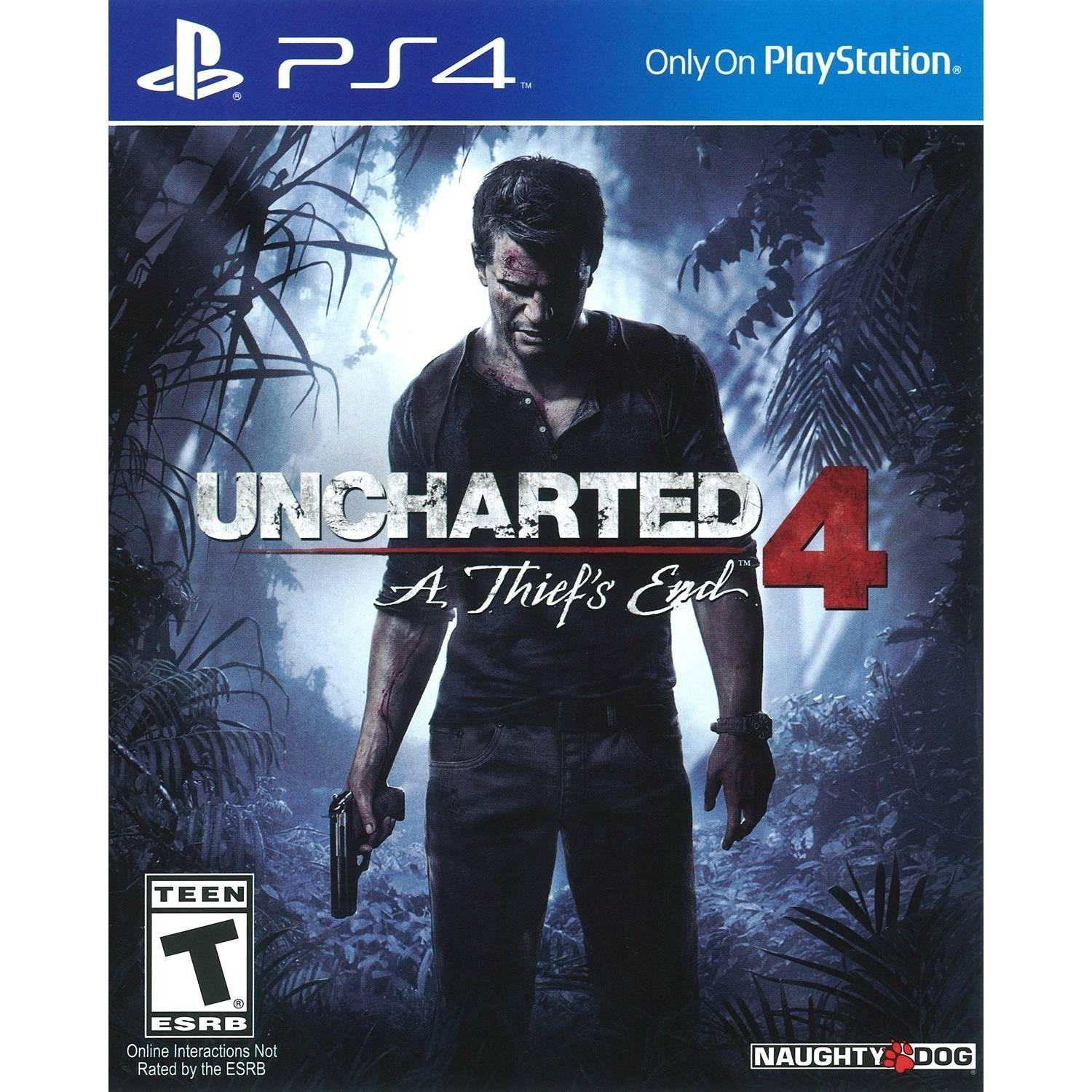 Naughty Dog Inc. Uncharted 4: A Thief's End - Pre-Owned (PS4)
