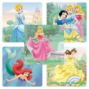 Disney Princesses Bank Stickers - 75 per Pack