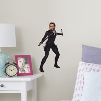 Fathead Avengers: Endgame - Black Widow: In Action - Large Officially Licensed Marvel Removable Wall Decal