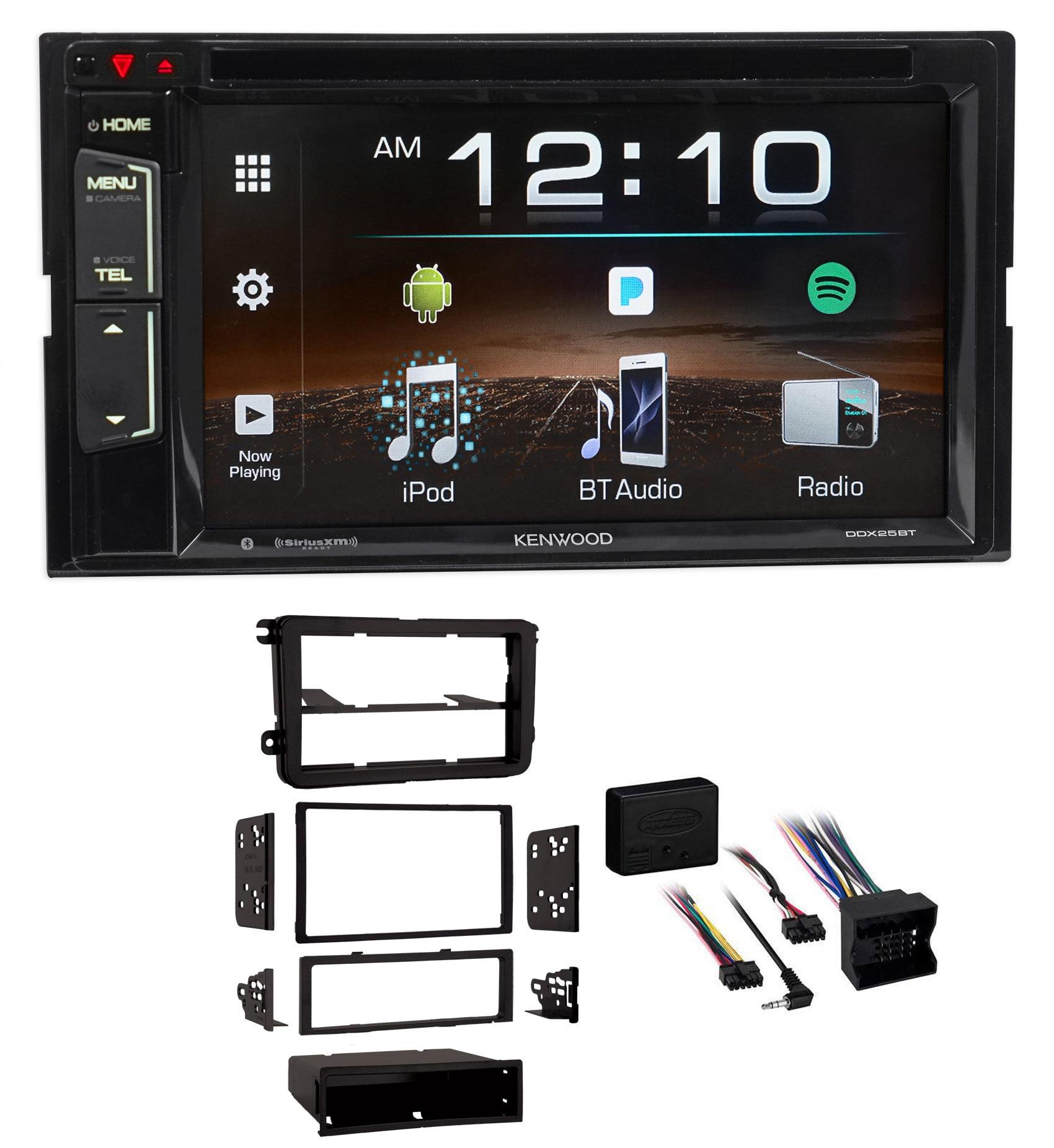 2012-2015 Volkswagen Beetle VW Kenwood Car DVD iPhone Bluetooth USB Receiver by Kenwood