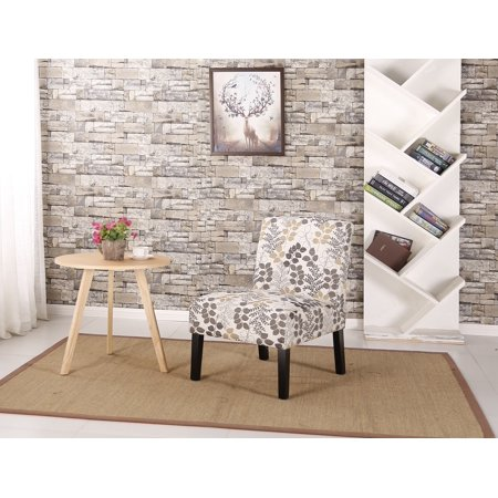 Banana Leaf Chair (Ocean Bridge Furniture Daphne Slipper Chair, Leaf Pattern )