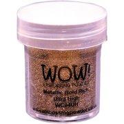 WOW! Embossing Powder Ultra High 15ml-Metallic Gold Rich