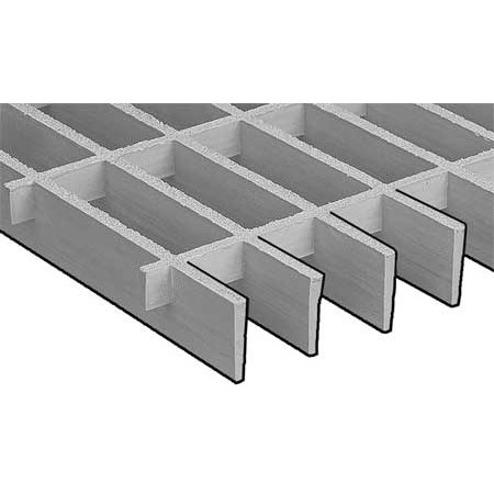 RIGIDEX 874010 Moltruded Grating,Span 4 ft