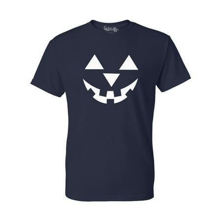 Jack O' Lantern Pumpkin Halloween Costume Mens Womens T-Shirt Top