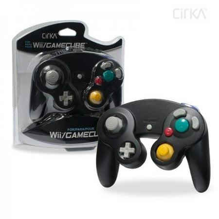 Gamecube Game Controller (Nintendo Wii/GameCube CirKa controller (Black))