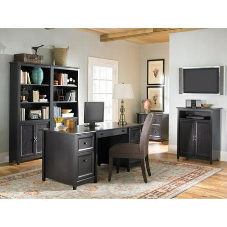 Executive 7 Piece Cast - Edge Water Executive Desk with Optional Pieces
