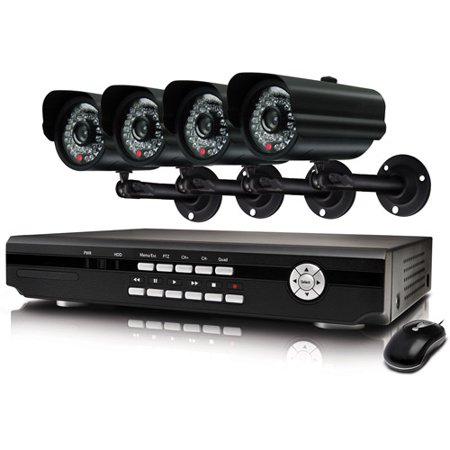 Swann Alpha D02C5 - DVR + camera(s) - 4 channels - triplex - 1 x 500 GB - 4  camera(s) - CCD