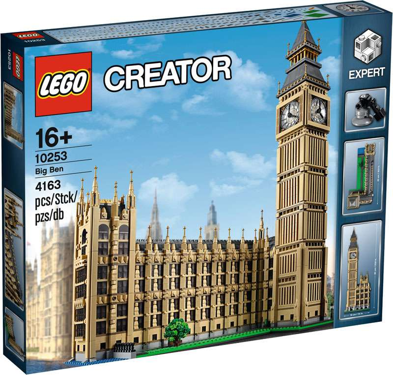 Lego Creator Expert Big Ben 10253 by LEGO Systems, Inc.