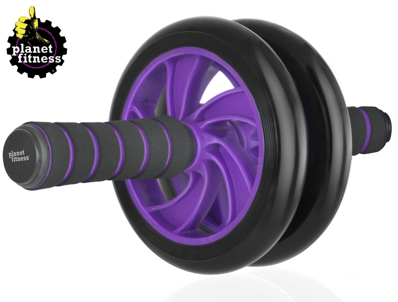 5dd2941392 Planet Fitness Deluxe Abdominal Wheel Roller