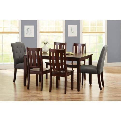 Better Homes and Gardens 7-Piece Dining Set, Gray