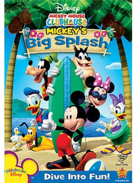 Mickey Mouse Clubhouse: Mickey's Big Splash (DVD)