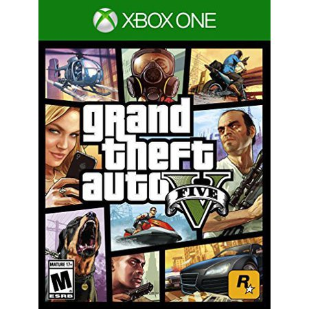 Grand Theft Auto V Game with Megalodon Shark Cash Card (Xbox One) -  Walmart com