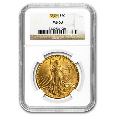 20 Saint Gaudens Gold Double Eagle Ms 63 Ngc