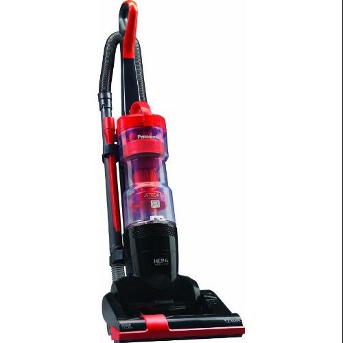 Panasonic New! Bagless Jet Force Upright Vacuum Cleaner with 9X Cyclonic Technology - 12 A - Bagless - Orange Octane, Black