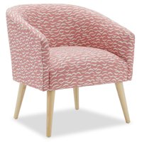 Crescent Moon Barrel Accent Chair by Drew Barrymore Flower Home
