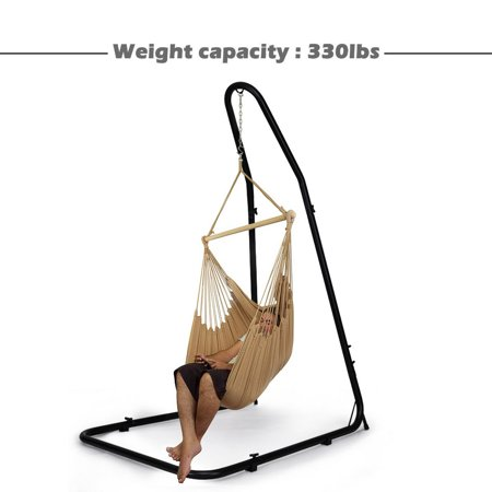 Adjustable Hammock Chair Stand For Hammocks Swings & Hanging Chairs Steel Frame - image 7 of 9