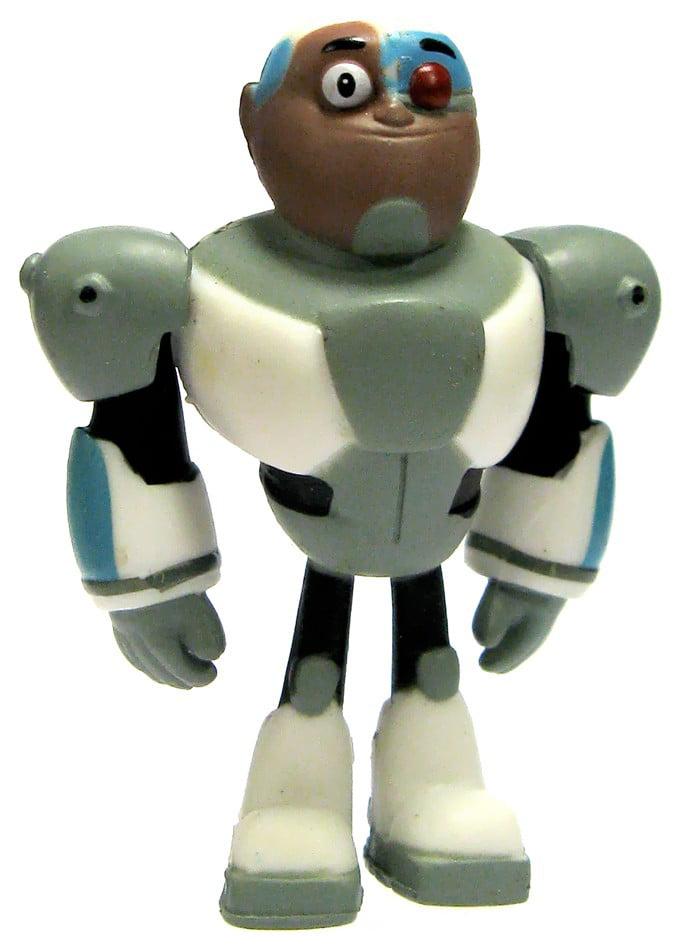 Teen Titans Go! Cyborg PVC Mini Figure by