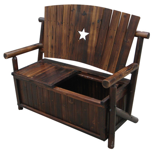 Leigh Country Char-Log Storage Bench I