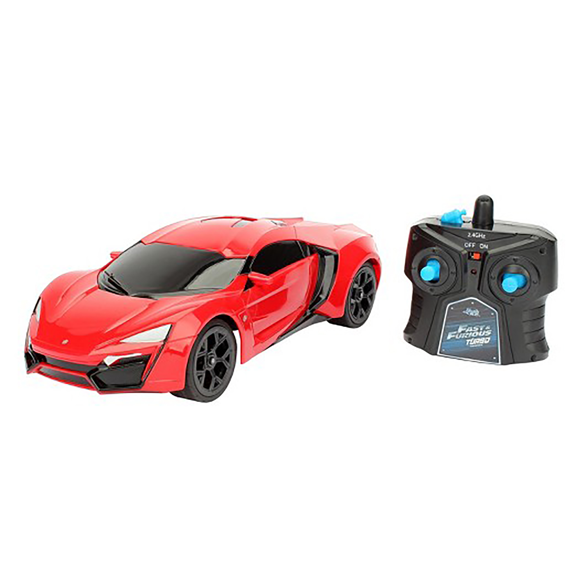 Jada Toys Fast & Furious 1:16 RC, Lykan Hypersport by Jada