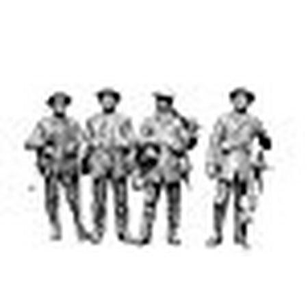 Infantry Figure Set (Master Box Models 1/35 British Infantry Somme Battle Period 1916 - 5 Figures)